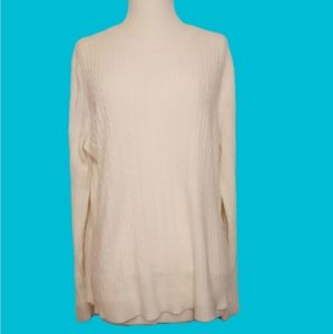 Designers Originals Luxelon classic cream sweater